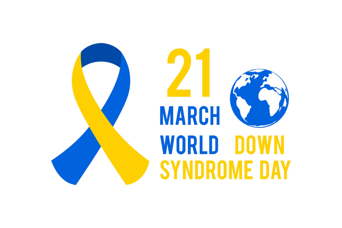 World Down Syndrome Day March 21.