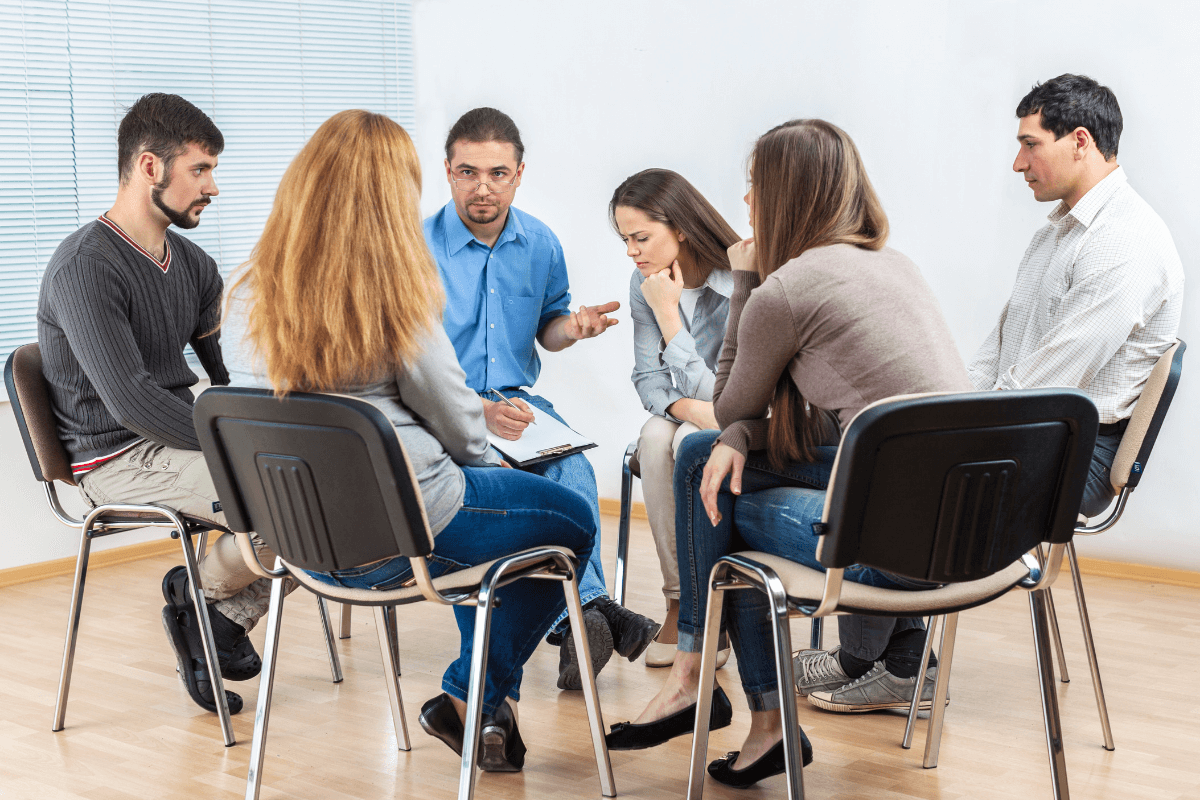 Support group is a great way to help build alcohol awareness.